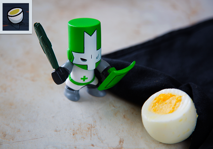 Castle Crashers: Deviled Eggs