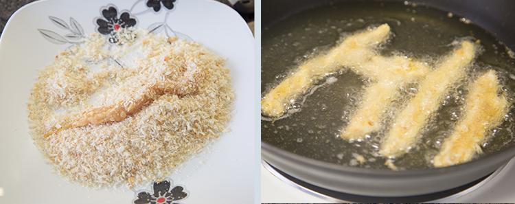 Tales of Xillia 2: Spicy Chicken Rolls
