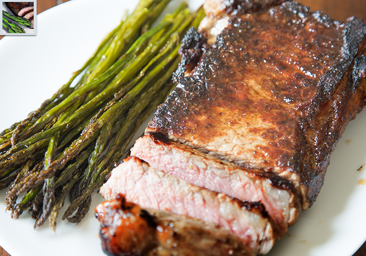 Guild Wars 2: Plate of Steak and Asparagus